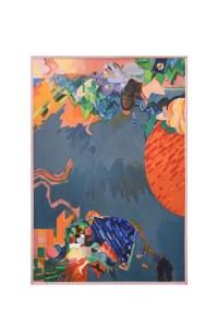 Gottardo Ortelli, Composizione, 1976, cm 115x161.5, acrilico su tela