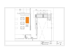 Possible Temporary Artwork Relocation Area, Level 2 Floorplan, Sheridan HMC B-Wing