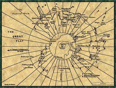 Map of Dune / Arrakis