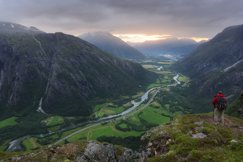 Photography in Andalsnes Norway