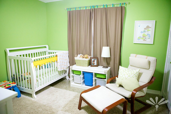 nursery- before