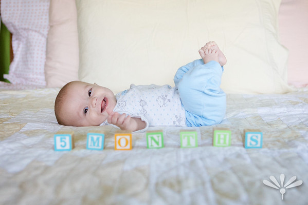 happy 5 month old!