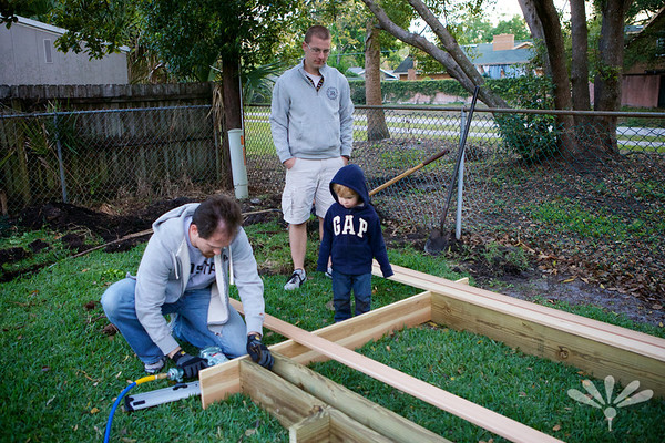 framing the sandbox