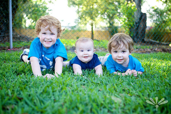 Jay, Luc and Charlie