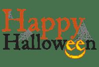 happy halloween no background