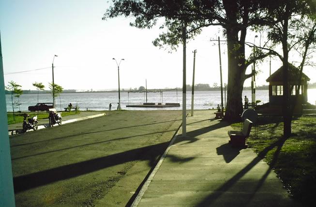 El Río Uruguay por la mañana