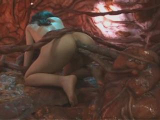 Live tentacle porn