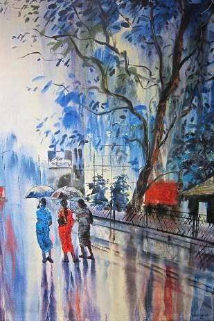 Tropical rain. Rohitha. 2012
