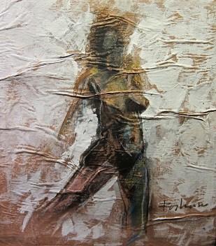 Woman from the past. Roshan Kumara. 2012