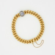 Moonstone Diamond Bracelet