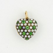 Demantoid Garnet Pearl Rocket