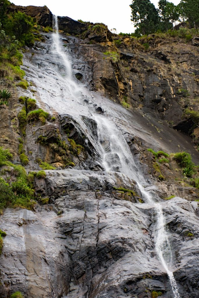 Highest waterfall in Sri Lanka