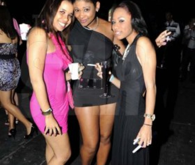 Rudolph Brown Photographer From Left Stacy Sutherland Kristen Walters And Tia Johnson At Smirnoff
