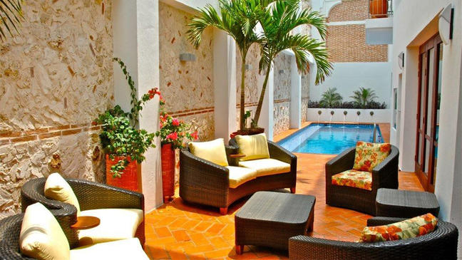 Amazing Cartagena 4 Story Old City Home 700 Sq Meter 6 Bedroom Suites With Private Pool