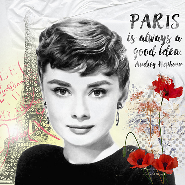 September Quote Audrey Hepburn