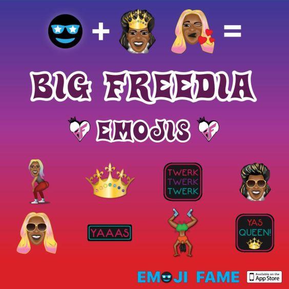 Big Freedia Releases New Set of Twerk-tastic Emojis | It
