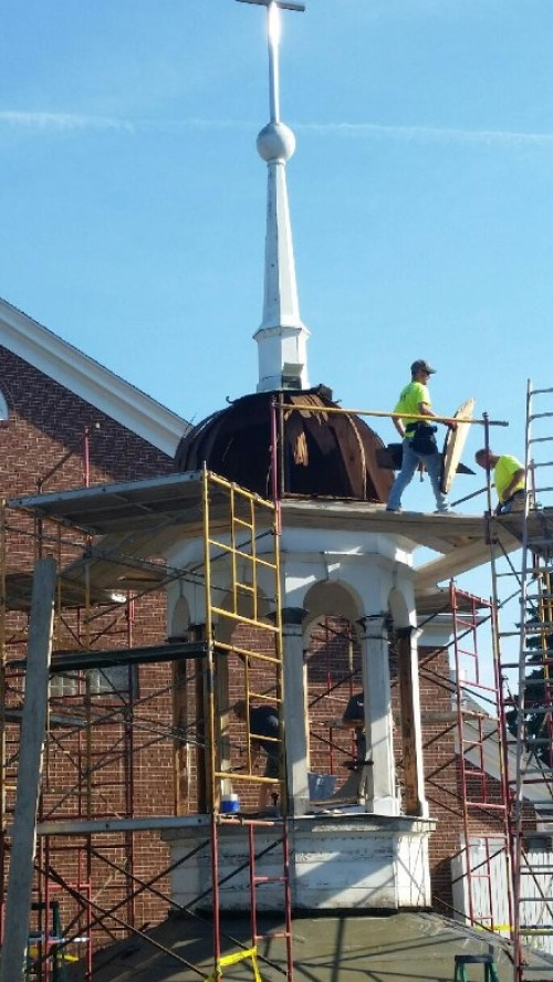 Bell Tower Work