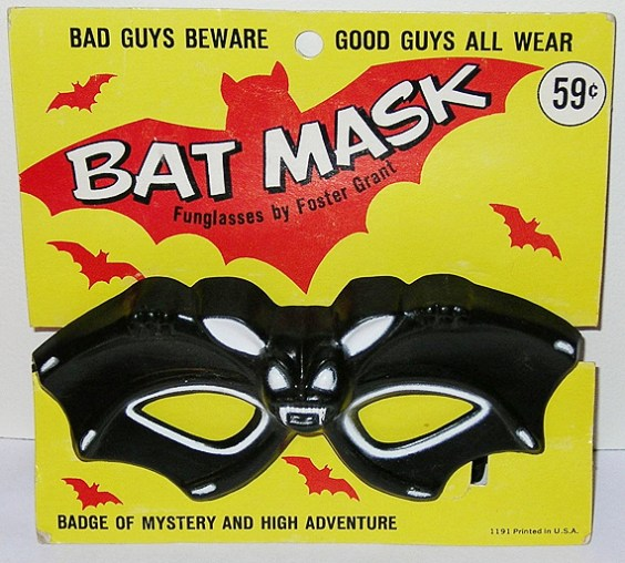 Bat Mask Funglasses by Foster Grant