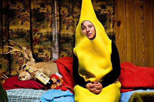 Heathervescent as a banana