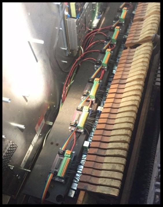 Amelia Mouse Piano, inside