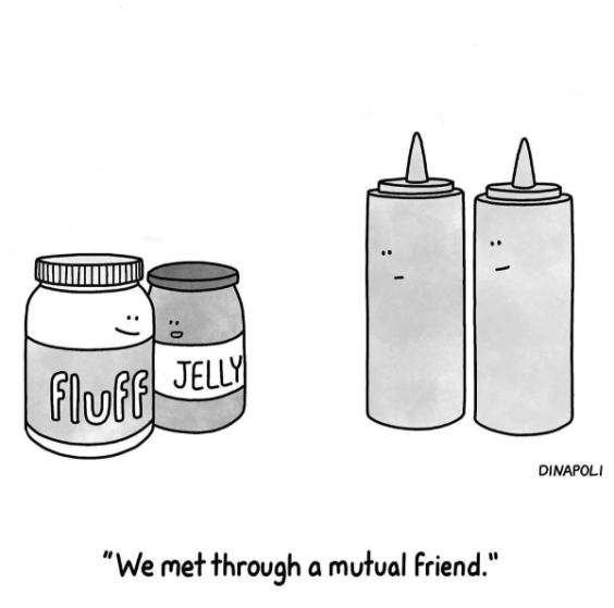 Johnny Dinapoli cartoon