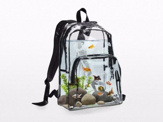 Aquarium backpack