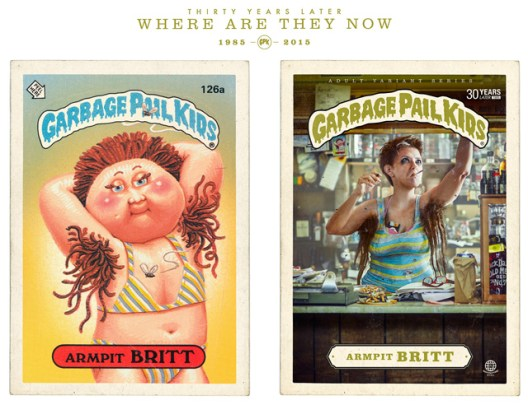 Garbage Pail Kids, 30 years later...as real people