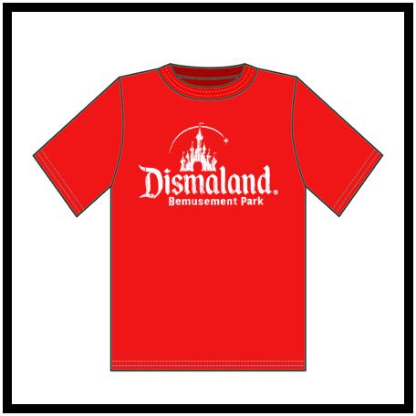 Dismaland Bemusement Park t-shirt