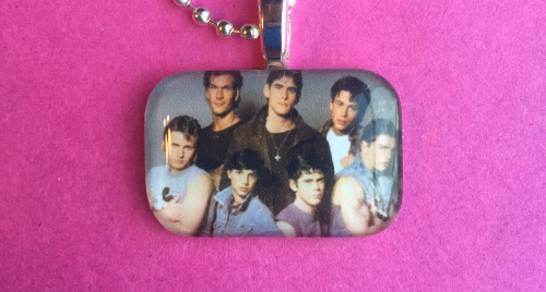 The Outsiders, a pendant by PimentosPalette