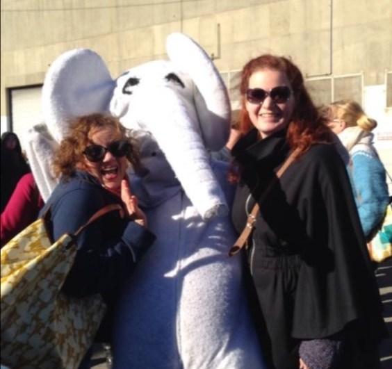 The White Elephant sale's White Elephant mascot