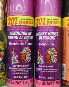 Money House Blessing spray