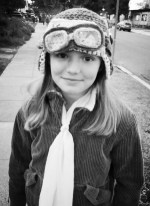SJ as Amelia Earhart