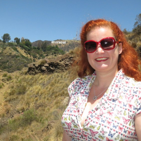 Rusty Blazenhoff in Hollywood near Bronson Caves