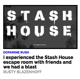 Stash House on Boing Boing