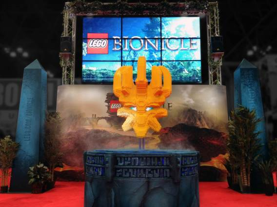 Creatacor partnered with LEGO® on the announcement of  the return of BIONICLE and the Mask of Creation at the four day NYC Comic Con adventure in New York City.
