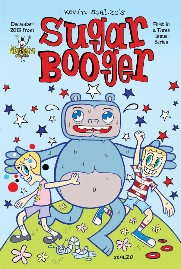 Alternative Comics Announces Three Issue Sugar Booger Series by Kevin Scalzo