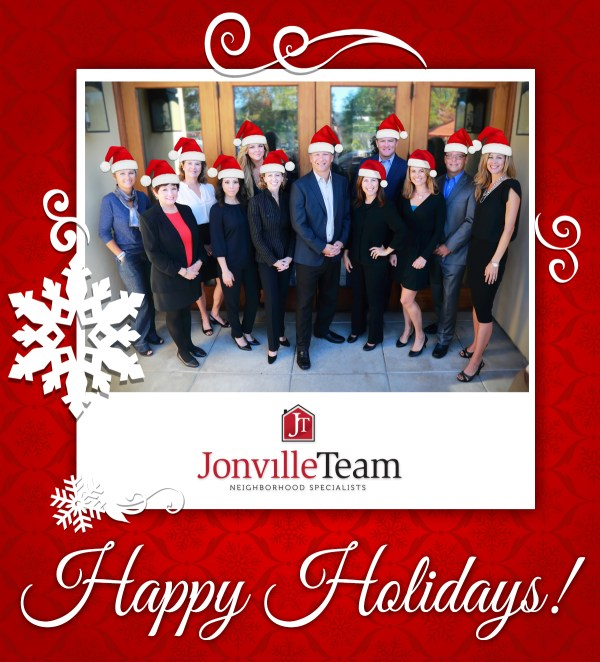 Happy Holidays From everyone at The Jonville Team