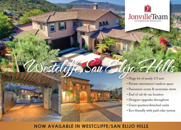 Welcome to Kingsport Way in Westcliffe/San Elijo Hills! This stunning spacious property features a huge lot of nearly 1/3 acre, panoramic ocean & mountain views, designer upgrades, detached casita and more. A terrific value!