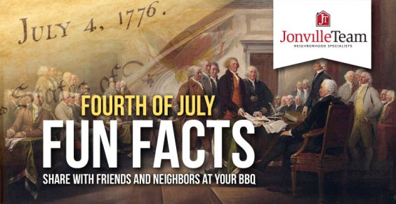 The Jonville Team - 4th of July Fun Facts