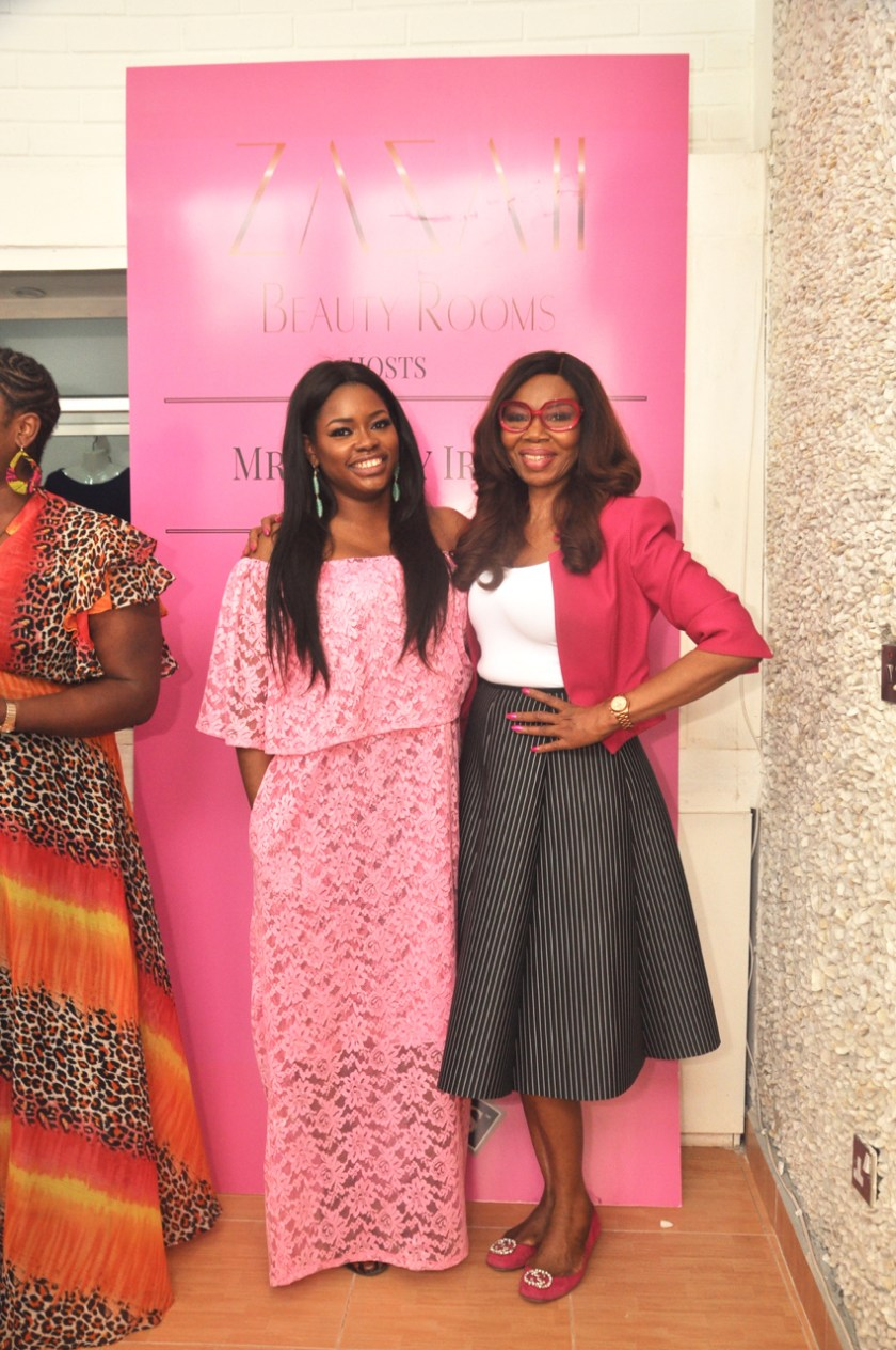 ZAZAII BEAUTY ROOMS Launch