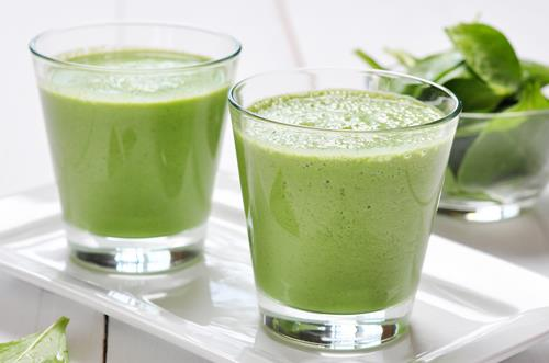 Springtime Smoothies and Juices...with HONEY!