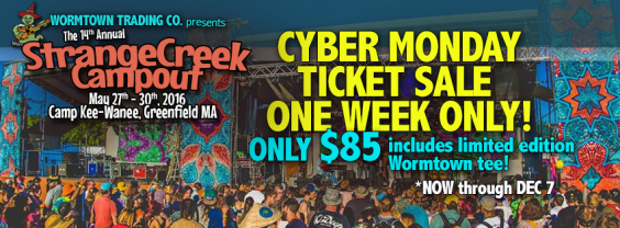 Cyber Monday Ticket Sale ONE WEEK ONLY!