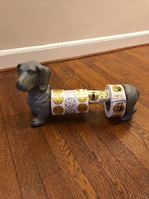 Image: Stickers Dog by Teri Case