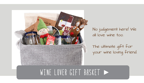 Wine Lover Gift Basket