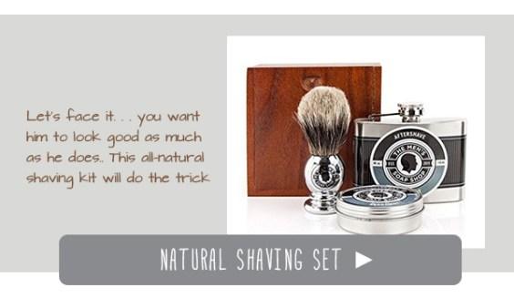 Natural Shaving Set