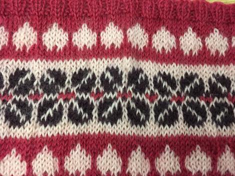 Wensleydale Fairisle knitting course
