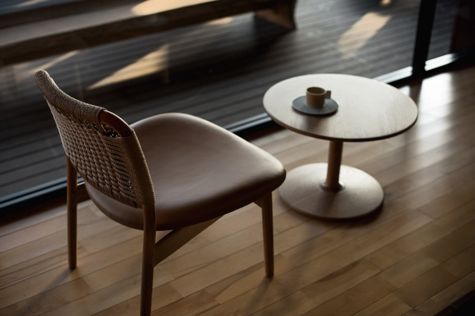 Ariake Japanese furniture Summit Lounge Chair Norm Architects