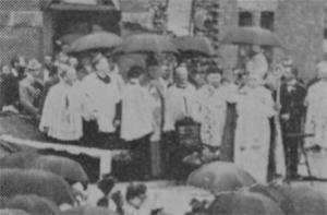 Bishop Scalabrini in New York