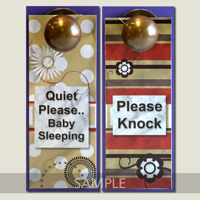 doorknob hanger sample