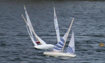 Sailing at Cranberry II Regatta 2010